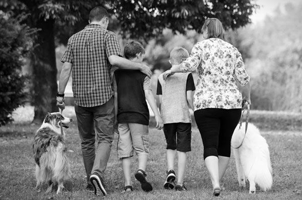 familie-hund