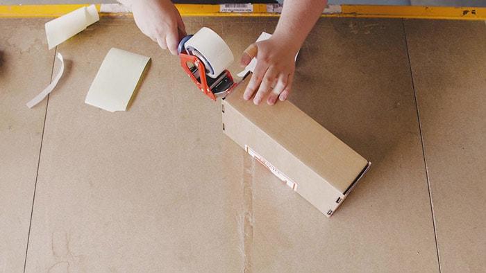 pakke-kasser